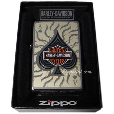 ハーレー・ダビッドソン・エース・オブ・スペード・ジッポー H-D Ace of Spade Zippo