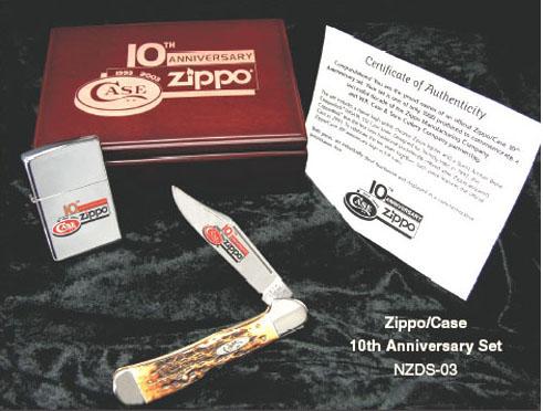 ジッポー/ケース10周年記念セット(1993-2003) ZIPPO/CASE 10th Anniversary Set