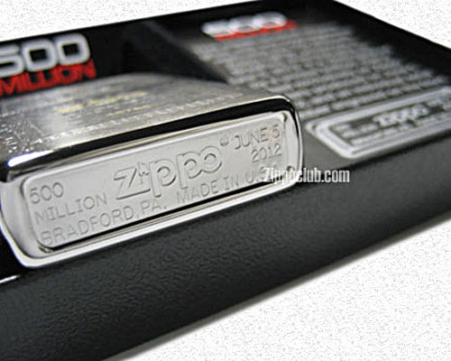 500ミリオン・レプリカ・エディションZIPPO