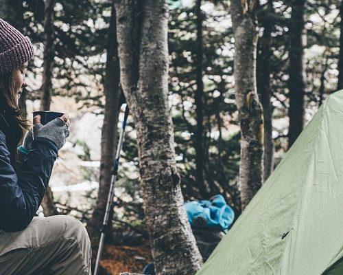 キャンプとZIPPO