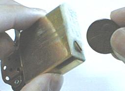ZIPPOライター・メインテナンス1