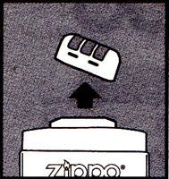 ZIPPOハンド・ウォーマーの使用方法